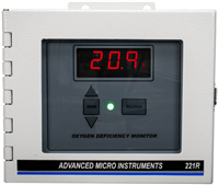 Model 221R Oxygen Deficiency Monitor