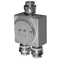 Appleton™ GRU Conduit Outlet Boxes with Union Hubs