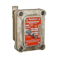 Appleton™ Intraground™ N1 Series Nonmetallic Tumbler Switches