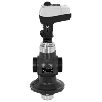 AHQM Flow Controller with Integrated Control Valve