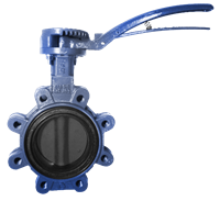 VFY-LH Butterfly Valve with Hand Lever