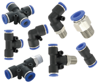 Series A-3000 Quick Connect Pneumatic Fitting