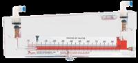 Series 250-AF Inclined Manometer Air Filter Gauge