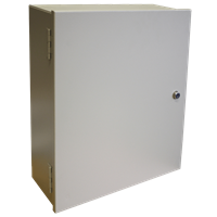 Series CSE-KN Carbon Steel Enclosure with Knockouts
