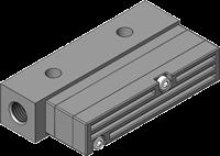 EDCO AX Series Vacuum Pumps G 1/8 NPSF Base