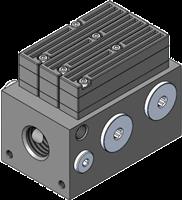 "EDCO AX Series Vacuum Pumps Large Capacity Base G 1/2"" NPSF"