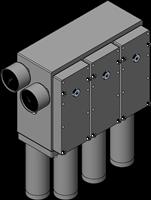 EDCO Classic Vacuum Pumps Triple-Base
