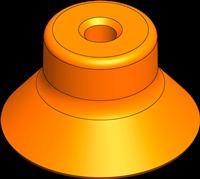 EDCO Deep Vacuum Cups XP-D Series