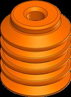 EDCO Multi-Bellows Vacuum Cups XP-BL Series