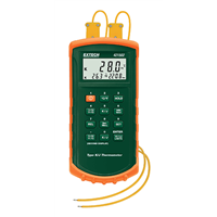 421502 Type J/K, Dual Input Thermometer with Alarm