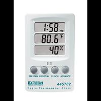 445702 Hygro-Thermometer Clock