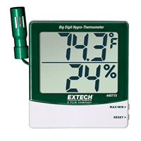 445715 Big Digit Hygro-Thermometer with Remote Probe