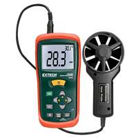 AN100 CFM/CMM Mini Thermo-Anemometer