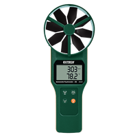 AN320 Large Vane CFM/CMM Anemometer/Psychrometer plus CO2