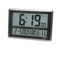 CTH10 Radio-Controlled Wall Clock Hygro-Thermometer