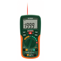 EX210 8 Function Mini Digital MultiMeter with IR Thermometer