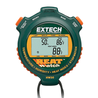 HW30 HeatWatch Humidity/Temperature Stopwatch