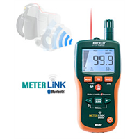 MO297-Pinless Moisture Psychrometer with IR Thermometer & Bluetooth METERLiNK