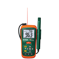 RH101 Hygro-Thermometer + Infrared Thermometer