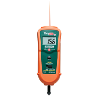 RPM10 Photo/Contact Tachometer with built-in Infrared Thermometer