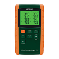 TM500 12-Channel Datalogging Thermometer