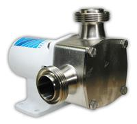 28400 Series Sanitary Flexible Impeller Stainless Steel Pedestal Pump