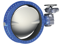 Series GRF Double Flanged Butterfly Valve