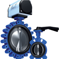 Series GRW/GRL (ISO) Butterfly Valve