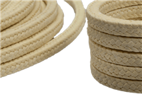 LATTYflon 4788 Braided Packing Made of Continuous 100% Aramid Fibres