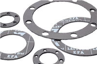 LATTYgraf EFA Rigid Graphite Gasket for High-Temperature, High-Pressure Applications