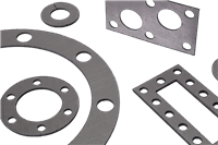 LATTYgraf EFN Expanded Graphite and Nickel Sheet and Gasket for Static Seal Applications