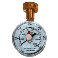Water Test Gauge