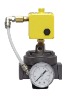 ER Series Electro-Pneumatic Servo Valve with Volume Booster PRH100 or HPR100, 1/4 to 3/4