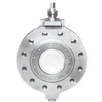 Jamesbury Series 860 Soft-Seated Butterfly Valve