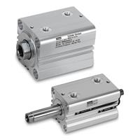 Compact Hydraulic Cylinders, Metric - Aluminum Body Construction - Series CHE