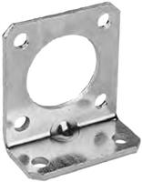 Parker ORIGA OSP-P Series, Linear Drive Accessories: End Cap Mountings - Type B ø 16 to 32mm