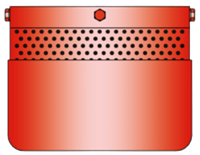 EF/V-IIB3 Detonation Flame Arrester