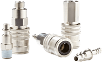 Series 1400 Premium Plus Safety Quick Coupling with a Self-Venting System