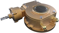 Rotork BR Range - Quarter-Turn Manual Bronze Worm Gear