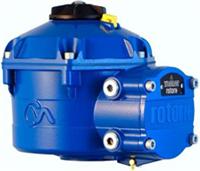 Rotork CVA Range - CVQ Quarter-Turn Control Valve Actuator