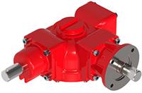 Rotork DSB Range - Dual/Tiple Input Bevel Gearbox