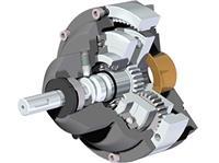 Rotork DSIR Range - Dual Speed Input Reducer