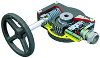 Rotork FB - Quarter-Turn Fire Protection Gear Operator