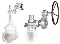 Rotork IB/AS Combinations - Motorised Multi-Turn Gearbox