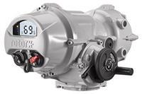 Rotork IQTF Range - Electric Full-Turn Modulating Actuator