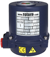Rotork ROM Range - Quarter-Turn Direct Drive Electric Actuator