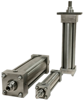 SA Series - Stainless Steel Pneumatic Cylinders