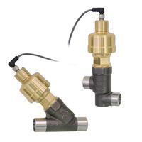 Electric Valves - Transcritical CO2 (140 bar) - Gas Cooler/Flash Gas Series