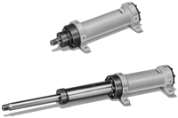 70T-2 Series Double Acting 2-stage Telescopic Cylinder