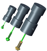 Linear Tension Cable Cylinders